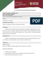 Matriz Analitica O Papel Do Coordenador Na Formação Continuada de Professores