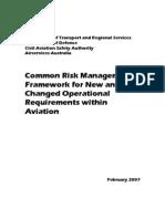 CASA - Common Risk Framework