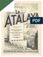 Atalaya 1 Mayo 1959