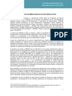 Comites Regionales de Evaluacion de Medicamentos