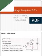 14 I-V Analysis of BJT
