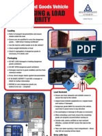 ADR Packaged Goods Vehicle Packaging and Load Security