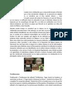 Olmecas - Teotihucanos - Andinos - Mayas - Xincas - Garifunas - 2018