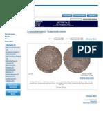 430. Durham House Mint; Edward VI Coin; Scratched