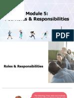 5. Pod Roles and Responsibilities - Pod Orientation Kit - Part 2 -