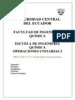 Hoja Guia Practica 1 PROPIEDADES PSICROMETRICAS