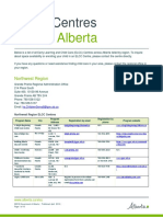 Alberta Early Learning and Child Care (ELCC) Centres