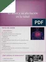 El Amor y Su Afectación en La Salud 2