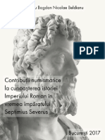 Contribuc89bii Numismatice La Cunoac899terea Istoriei Imperiului Roman c3aen Vremea c3aempc483ratului Septimius Severus