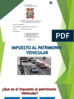 Impuesto Al Patrimonio Vehicular Grupo 3