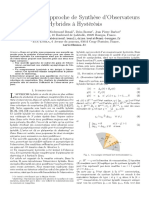 Une Nouvelle Approche de Synthese Dobservateurs Hybrides a Hysteresis