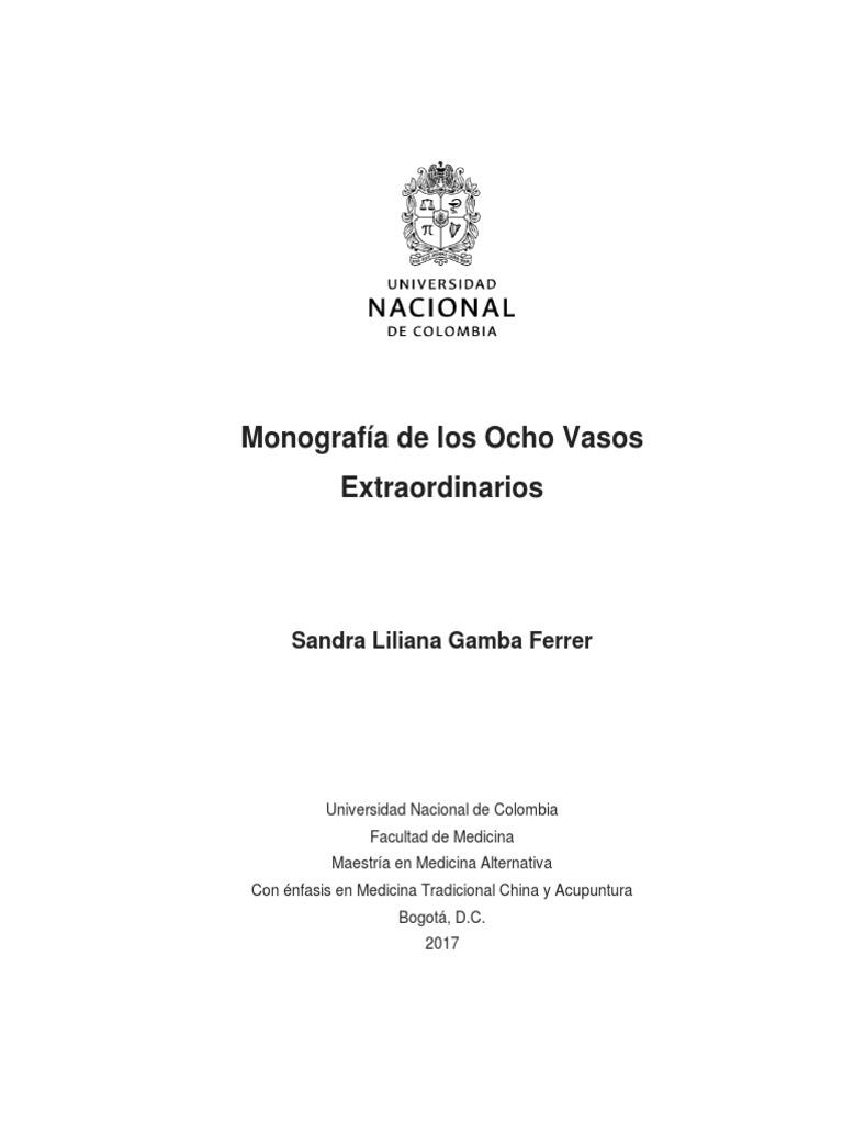 Ocho Vasos Maravillosos Monografia Pdf Qi Tierra