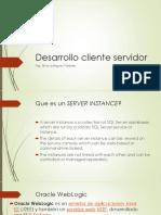 Desarrollo Cliente ServidorS4