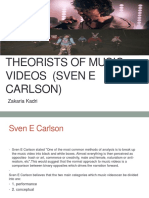 theorists of music videos