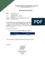 Informe de Maquinaria - Excavadora