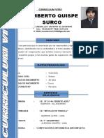 Curriculum Humberto 2018