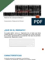 Material de Autoaprendizaje 1_El Párrafo