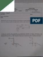 Resistência dos Materiais Lista 2 - Trabalho - UBM.pdf.pdf