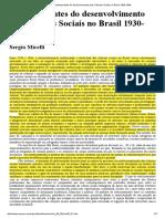 MICELI, Sérgio - Condicionantes do desenvolvimento das Ciências Sociais no Brasil 1930-1964.pdf