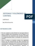 Cap 5 Sistemas y Volúmenes de Control 2017
