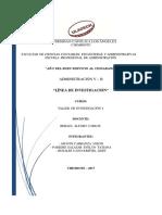 Línea de Investigación de Universidad Uladech VB