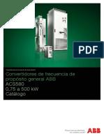 VDF ACS580 ABB Catalog