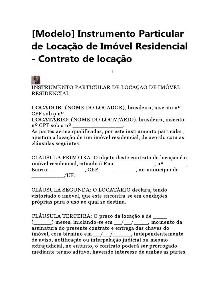 Modelo de contrato de locação.doc 22213601b1