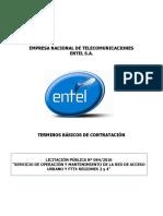 Tbc Lp 084-2016 Op y Mant. Red Acceso y Fttx r. 2 y 4