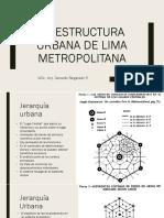 La Estructura Urbana de Lima Metropolitana