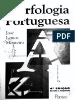 Monteiro. Morfologia Portuguesa - Parte 1 (p. 1-77)