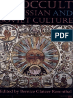 Bernice Glatzer Rosenthal - The Occult in Russian and Soviet Culture (1997, Cornell University Press)