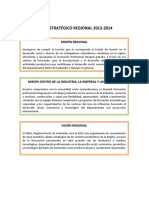 Plan Estratégico Regional 2012