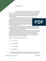 Intermediate Reading Comprehension Test 02