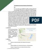 Visita Técnica Descriptiva de La Presa de Huacata y Obras Menores 1