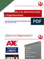 01 Introducción a La Administración y Organizaciones Semana 1