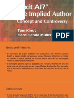 Implied Author. Concept and Controversy