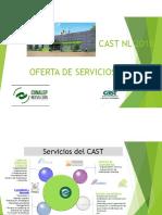 Oferta de Servicios Cast