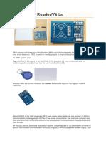 Mifare RFID Reader