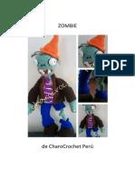 Patron crochet Zombie - Charocrochet peru