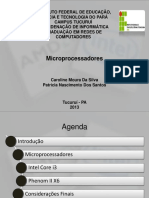 Microprocessadores