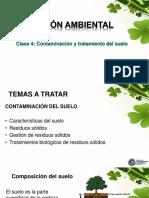 Clase 4 - Contaminacion Del Suelo- 2018