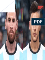 Hu 170904 Deportes Futbol AFA Seleccion Nuevas Caras Diseno PES 2018 VIRAL