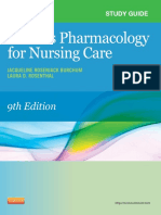 Study Guide for Pharmacology for Nursing Care, 9th Edition