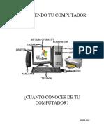 Manual de Instrucciones de Computación