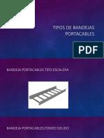 Tipos de Bandejas Portacables
