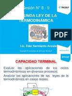Diapositiva N_ 8-9 - 2da Ley de La Termodinámica