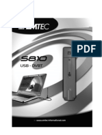 Emtec S810 DVB-T USB adapter User's Manual - German