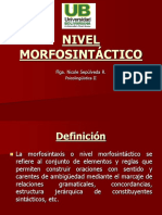 clase 4 N. Morfo