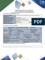 Guía Para El Desarrollo Del Componente Práctico - Laboratorio in Situ