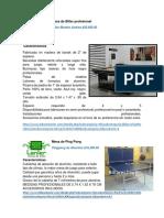 Catalogo de Mobiliario
